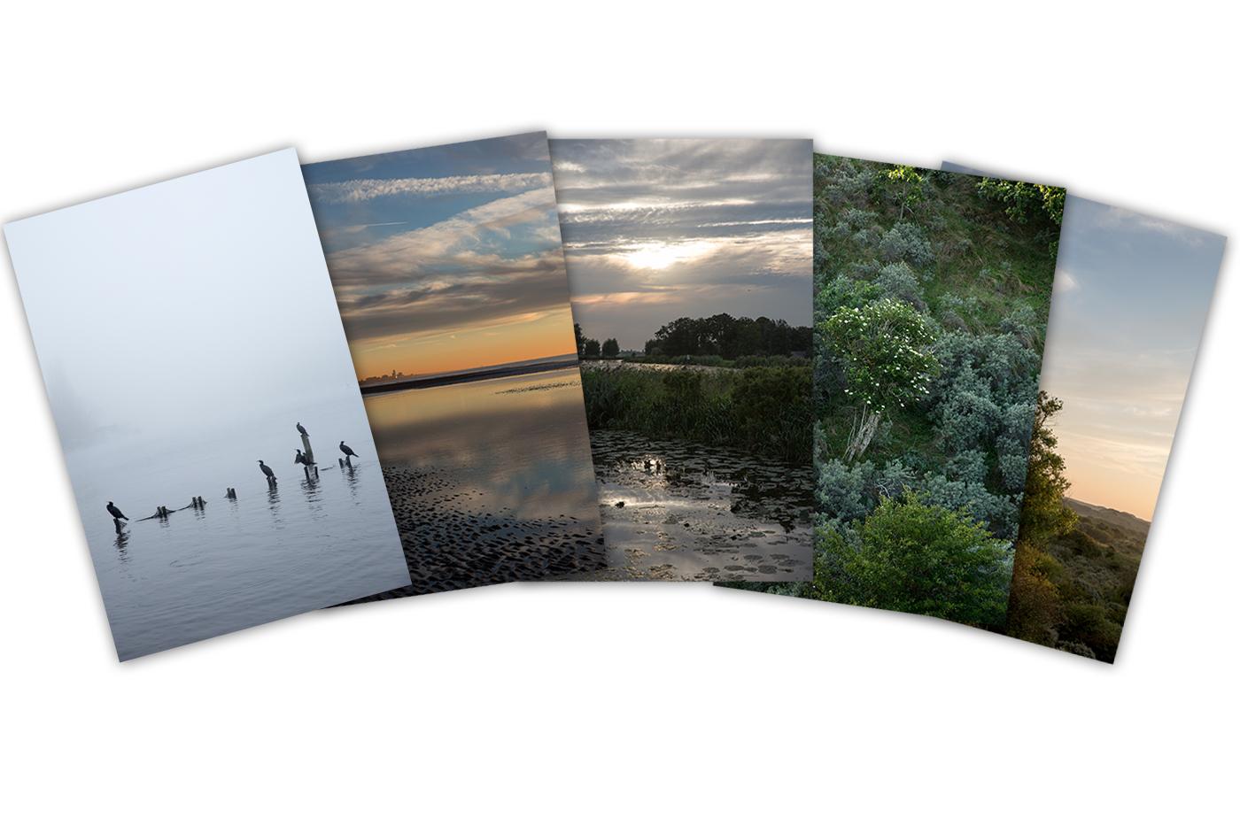 Postcard Set Romanticist Landscapes